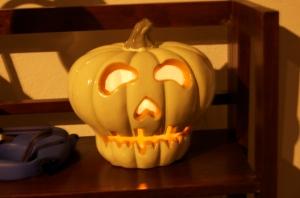 spooky skull