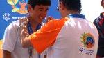 Donghan gets medal